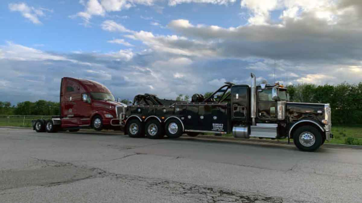 Heavy Truck Towing MN